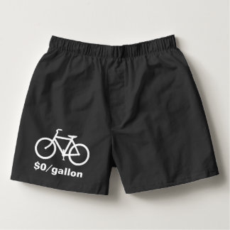Simple Bicycle Funny Boxers