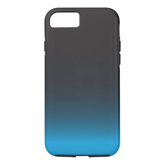 Simple Black and Blue iPhone 7 Case, Tough iPhone 7 Case