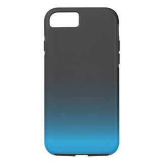 Simple Black and Blue iPhone 7 Case, Tough iPhone 8/7 Case