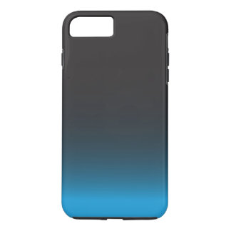 Simple Black and Blue Pattern iPhone 8 Plus/7 Plus Case