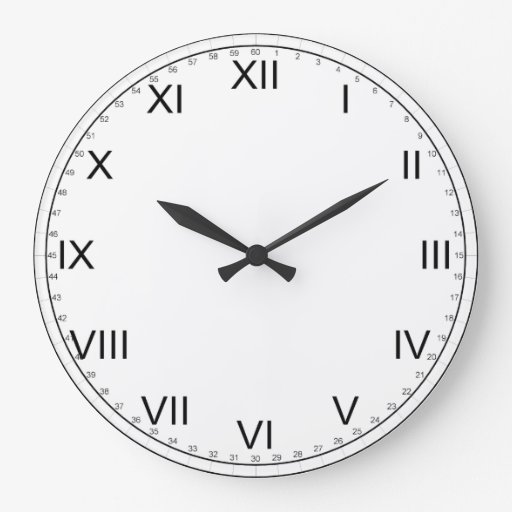 Roman Numerals Clock Ks2 | New Calendar Template Site