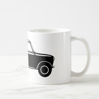 Simple Black Mini Basic White Mug