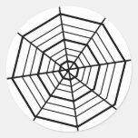 SIMPLE BLACK & WHITE SPIDER WEBS