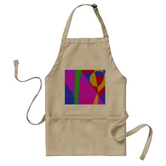 Simple Blue Background Aprons