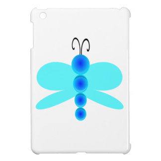 Simple Blue Dragonfly Case For The iPad Mini