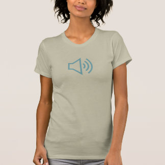 Simple Blue Sound On Icon Shirt