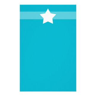 Simple Blue star Stationary Stationery