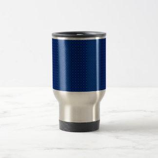 Simple Blue Travel Mug