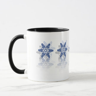 Simple Blue White Mug