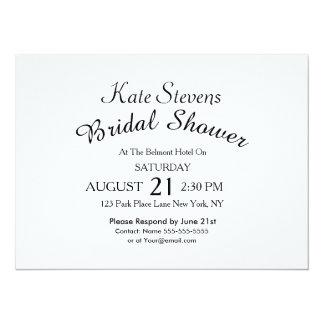 Simple Bridal Shower Card