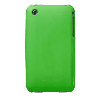 simple bright green color iPhone 3 cover