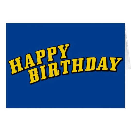 Simple & Bright Happy Birthday! Card