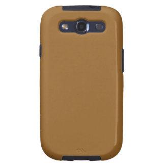 simple brown color galaxy s3 case