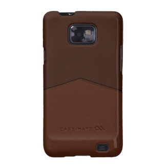 Simple brown texture shape galaxy s2 case