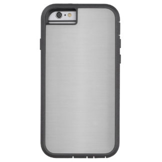 Simple Brushed Silver Effect Tough Xtreme iPhone 6 Case