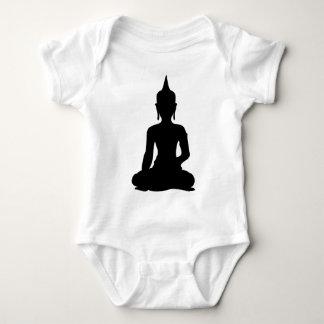 Simple Buddha Baby Bodysuit