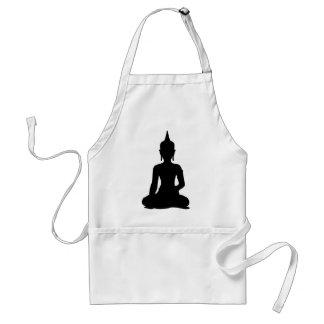 Simple Buddha Standard Apron