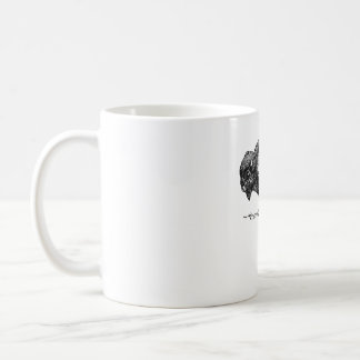 Simple Buffalo Logo Coffee Mug