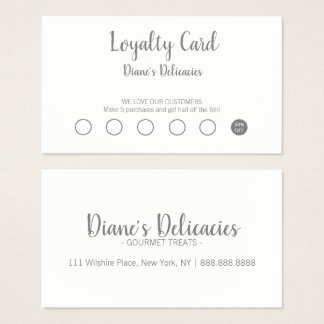 Simple Business & Loyalty Card