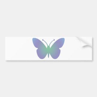 Simple Butterfly Bumper Sticker