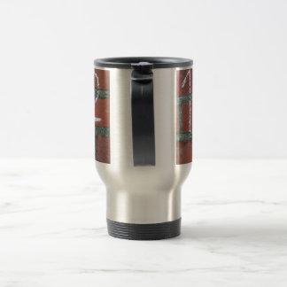 Simple calculation, passed school stainless steel travel mug