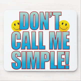 Simple Call Life B Mouse Pad