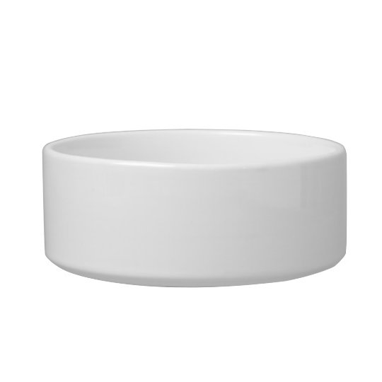 Simple Cat Paw Silhouette With Text Cat Bowl
