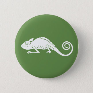 simple chameleon 6 cm round badge