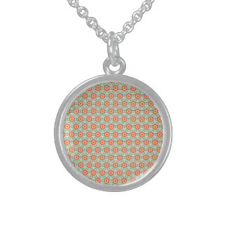 Simple Cheerful Majestic Fabulous Round Pendant Necklace