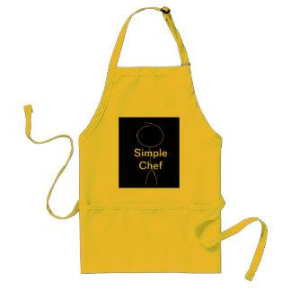 Simple chef apron