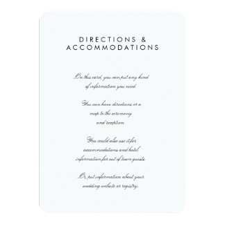 "Simple Chic 4.5"" x 6.25"" Rounded Enclosure Card"