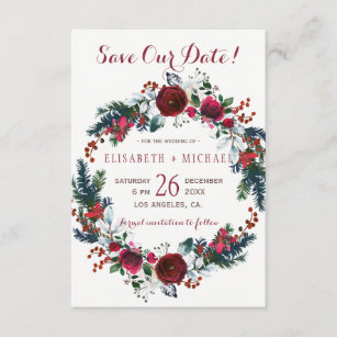 save the date christmas cards zazzle uk