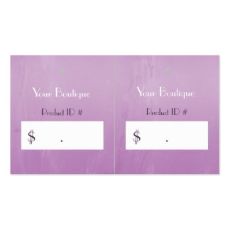 Simple Chic Pink Boutique Retail Sales Hang Tags Business Card Templates