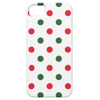 Simple Christmas Dots iPhone 5 Cover