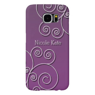 Simple circular pattern samsung galaxy s6 cases