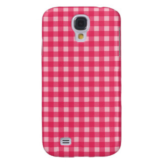 Simple, classic and elegant. Lucky pink plaids Galaxy S4 Case