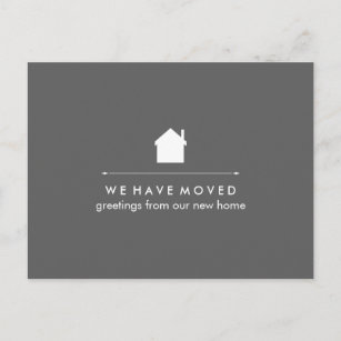 Moving New Home Announcements Zazzle Co Uk
