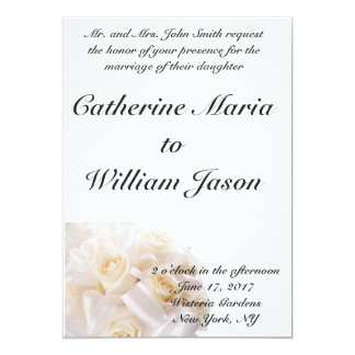 Simple Classic Wedding Invitation