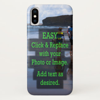 Simple Click and Replace Photo to Create Your Own iPhone X Case