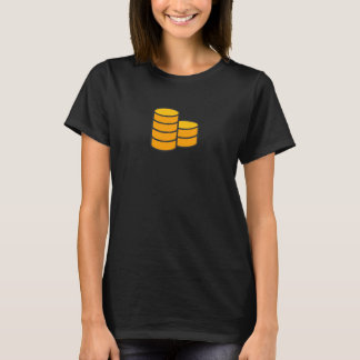 Simple Coin Icon Shirt