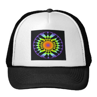 Simple Complexity. Chakra Colors, Sacred Geometry Cap