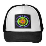 Simple Complexity. Chakra Colours, Sacred Geometry Cap