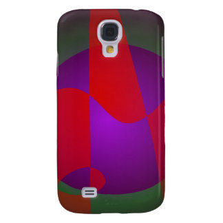 Simple Contrast Abstract Composition Galaxy S4 Case