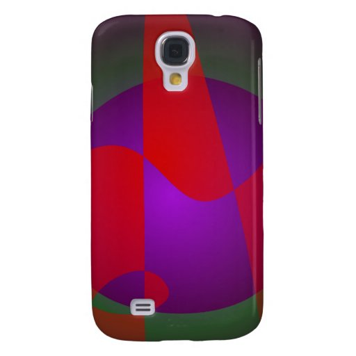 Simple Contrast Abstract Composition Galaxy S4 Covers