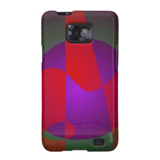 Simple Contrast Abstract Composition Samsung Galaxy SII Cover