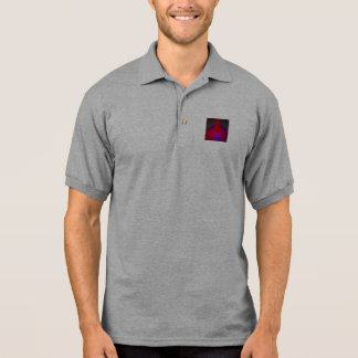 Simple Contrast Abstract Composition Polo