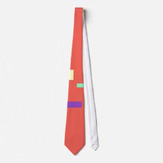 Simple Coral Tie