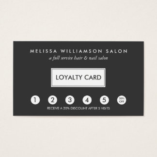 Loyalty cards for your business