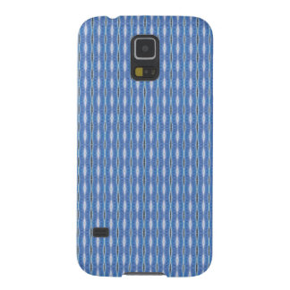 simple cute blue white pattern case for galaxy s5