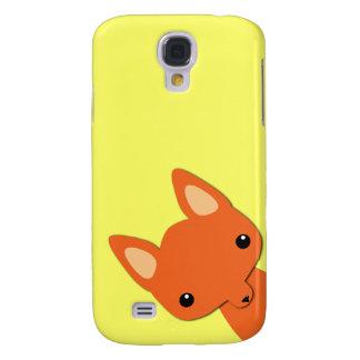 Simple Cute fox Galaxy S4 Case